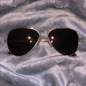 "Lucky brand ""after dark"" aviator sunglasses"
